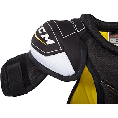 Bicep Protection (CCM Tacks Hockey Shoulder Pads - Youth)