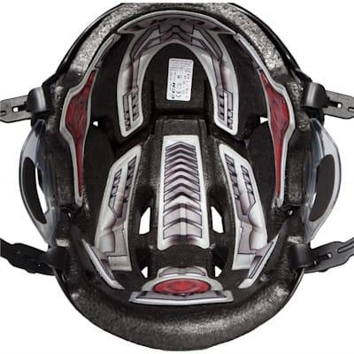 Liner View (CCM Fitlite FL80 Hockey Helmet Combo)