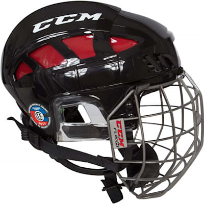 Side View (CCM FitLIte 80 Hockey Helmet Combo)