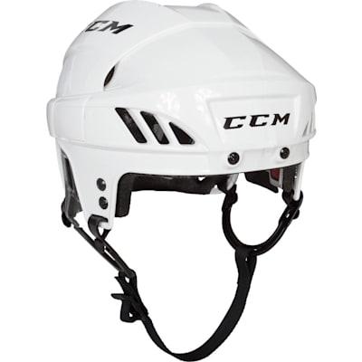White (CCM FitLIte 60 Hockey Helmet)