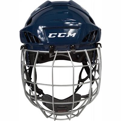 (CCM Fitlite FL60 Hockey Helmet Combo)