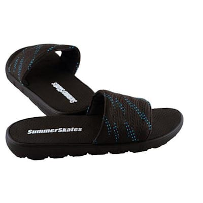 Black with Blue (SummerSkates Sandals - Senior)