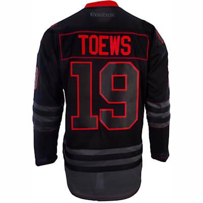 cheaper d3e95 b75a3 Reebok Jonathan Toews Chicago Blackhawks Black Ice Jersey ...