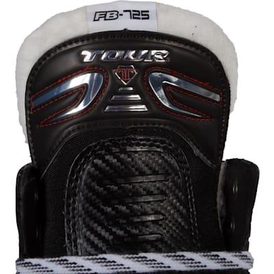 Tongue View (Tour Fish Bonelite 725 LE Inline Hockey Skates - Senior)