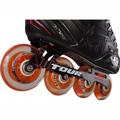 Wheel View (Tour Fish Bonelite 725 LE Inline Hockey Skates - Senior)