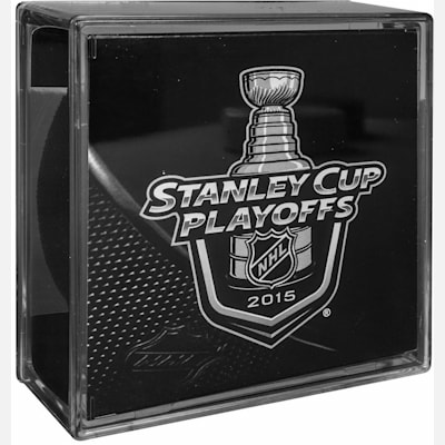 (Sher-Wood 2015 NHL Playoffs Official Team Puck)