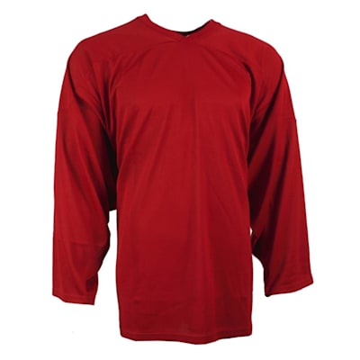 Red (CCM 10100 Practice Jersey - Junior)