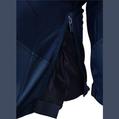 Zipper View (Easton Stealth C5.0 Ice Hockey Pants - Junior)