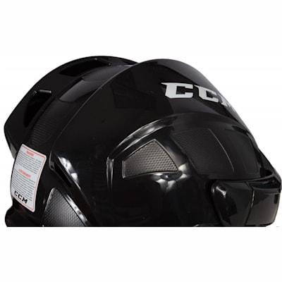 Three Quarter View (CCM Fitlite FL40 Hockey Helmet Combo)