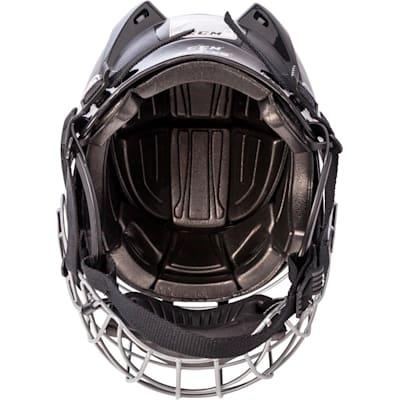 (CCM Fitlite FL40 Hockey Helmet Combo)