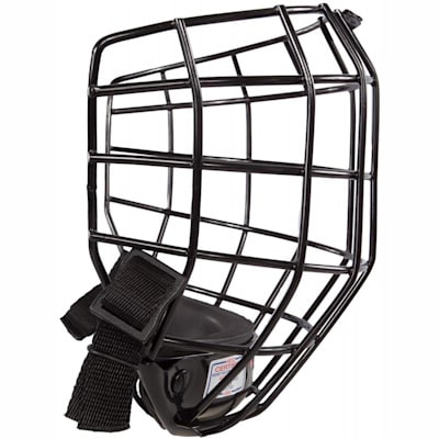 Side View (CCM Fitlite FL40 Hockey Helmet Facemask)