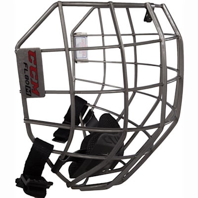 Side View (CCM Fitlite FL80 Hockey Helmet Facemask)