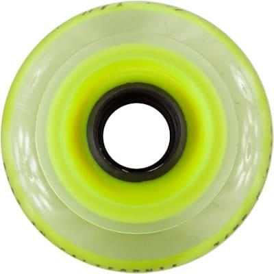 (Labeda Signature Millennium Inline Hockey Wheels - Yellow)