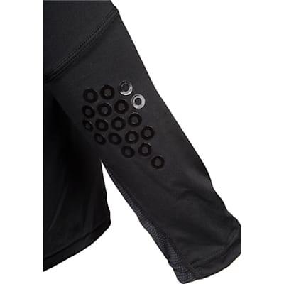 Grip On Elbows (CCM Long Sleeve Compression Shirt w/ Grip - Youth)