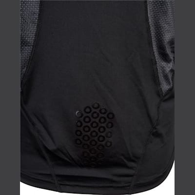 Grip On Back (CCM Long Sleeve Compression Shirt w/ Grip - Adult)
