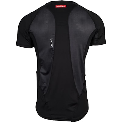 Back View (CCM Compression Shirt - Youth)