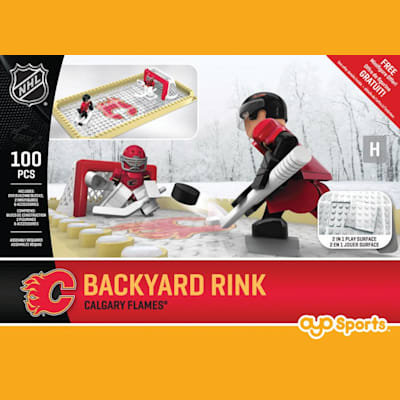 Calgary Flames (OYO Sports Backyard Rink Set Minifigure - Philadelphia Flyers)