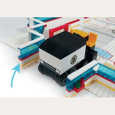Zamboni Doors (OYO Sports NHL Team Buildable Hockey Rink)