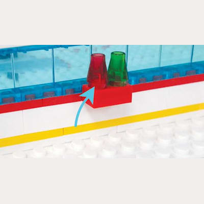 Goal and Period Signals (OYO Sports Gametime Rink Minifigure)