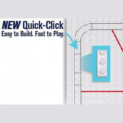 Quick Click Guide for Easier Build (OYO Sports NHL Team Buildable Hockey Rink)