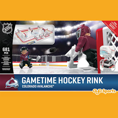 Colorado Avalanche (OYO Sports NHL Team Buildable Hockey Rink)