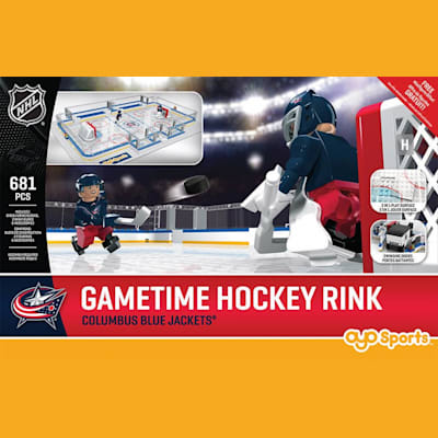 Columbus Blue Jackets (OYO Sports NHL Team Buildable Hockey Rink)