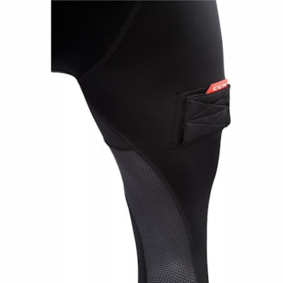 Leg View (CCM Compression Jock Pant w/ Grip - Boys)