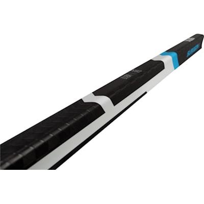 End View (STX Surgeon RX Composite Hockey Stick - Intermediate)