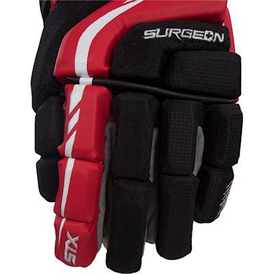 Front (STX Surgeon 300 Hockey Gloves - Junior)
