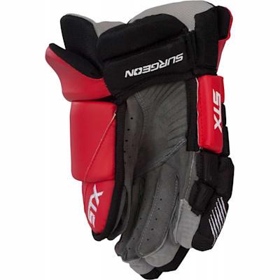 Back (STX Surgeon 300 Hockey Gloves - Junior)