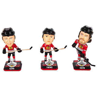 (Blackhawks 2015 Stanley Cup Champions Bobble Head - 3 Pack)