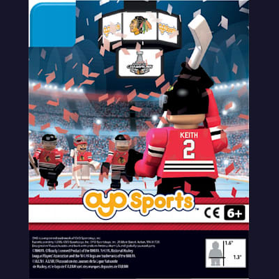 (OYO Sports 2015 Stanley Cup Champions Chicago Blackhawks Limited Edition Mini Figures)