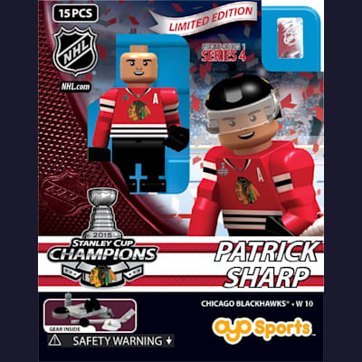Patrick Sharp (OYO Sports 2015 Stanley Cup Champions Chicago Blackhawks Limited Edition Mini Figures)