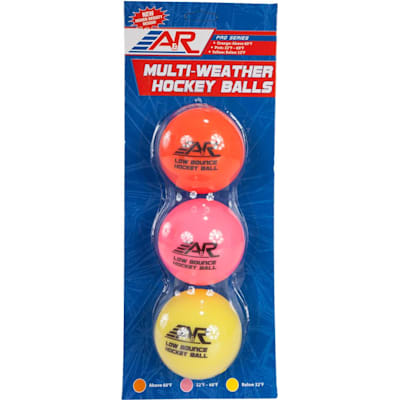 Package (A&R Low-Bounce Multi-Weather Balls - 3 Pack)