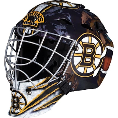 Boston Bruins (Franklin GFM1500 NHL Decal Street Hockey Goalie Mask)