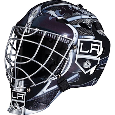 LA Kings (Franklin GFM1500 NHL Decal Street Hockey Goalie Mask)