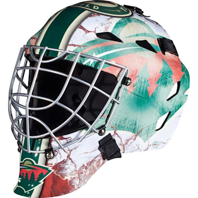 Minnesota Wild (Franklin GFM1500 NHL Decal Street Hockey Goalie Mask)