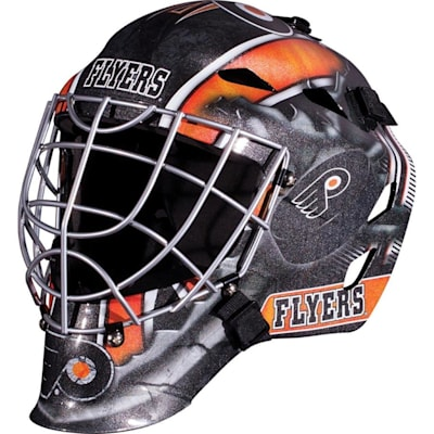 Philadelphia Flyers (Franklin GFM1500 NHL Decal Street Hockey Goalie Mask)