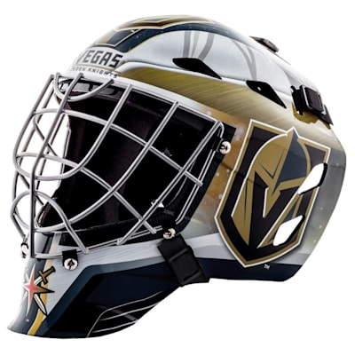 Vegas Golden Knights (Franklin GFM1500 NHL Decal Street Hockey Goalie Mask)