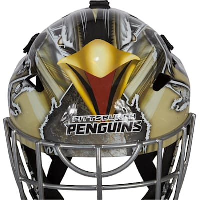 (Franklin GFM1500 NHL Decal Street Hockey Goalie Mask)