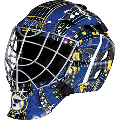 St. Louis Blues (Franklin GFM1500 NHL Decal Street Hockey Goalie Mask)