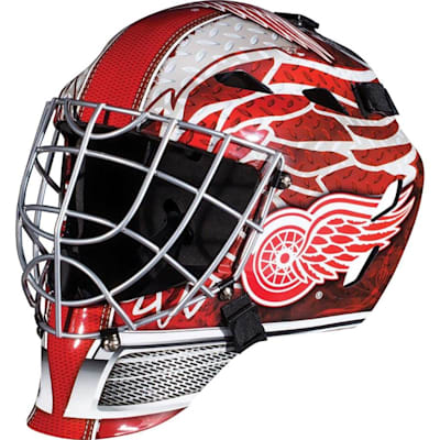 Detroit Red Wings (Franklin GFM1500 NHL Decal Street Hockey Goalie Mask)
