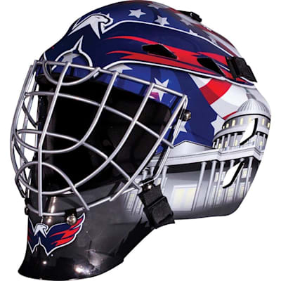 Washington Capitals (Franklin GFM1500 NHL Decal Street Hockey Goalie Mask)