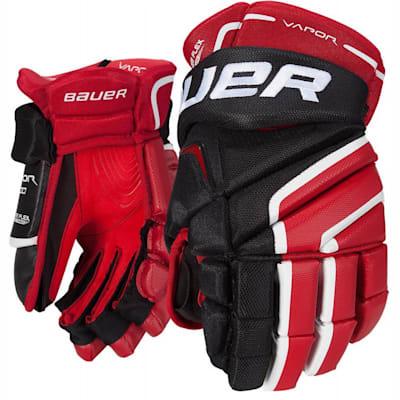 Vapor X100 Gloves (Bauer Vapor X100 Hockey Gloves - Junior)
