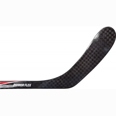 Backhand Of Blade (STX Stallion 600 Hockey Stick - Junior)