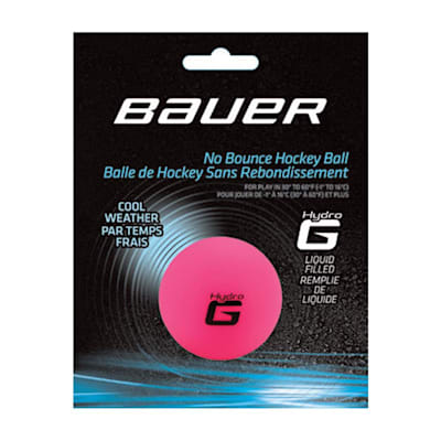 (Bauer HydroG Hockey Ball - Cool)