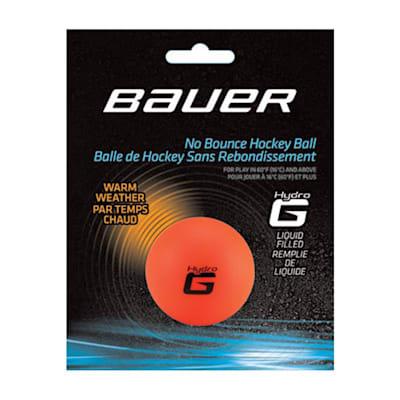 (Bauer HydroG Warm Hockey Ball - 1 Ball)