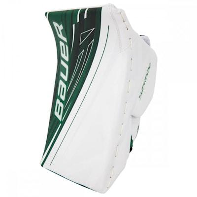 White/Green (Bauer Supreme 1S OD1N Goalie Blocker - Senior)