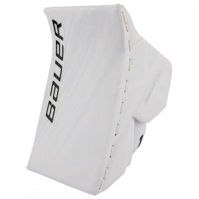 White/White (Bauer Supreme 1S OD1N Goalie Blocker - Senior)