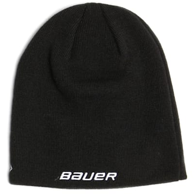 Black (Bauer Toque Knit Hat - Adult)